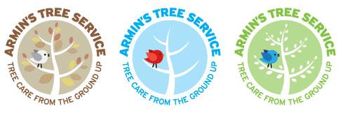 Ditto! Design! Armin's Tree Service Brand Design