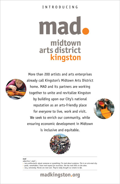 #MADkingston poster