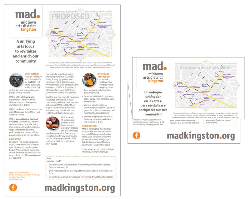 #MADkingston Bilingual Brochure